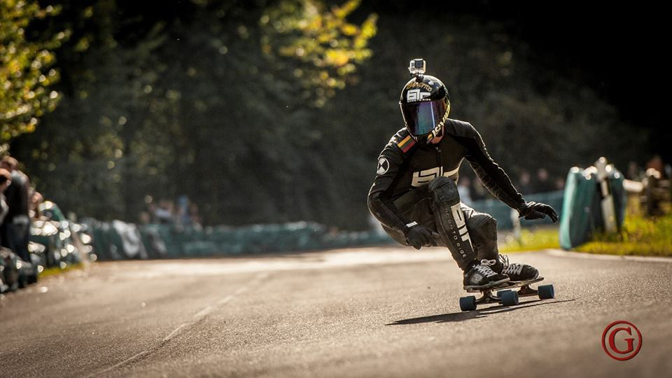 Born To Ride Leathers usnjeni kombinezoni za downhill skateboarding