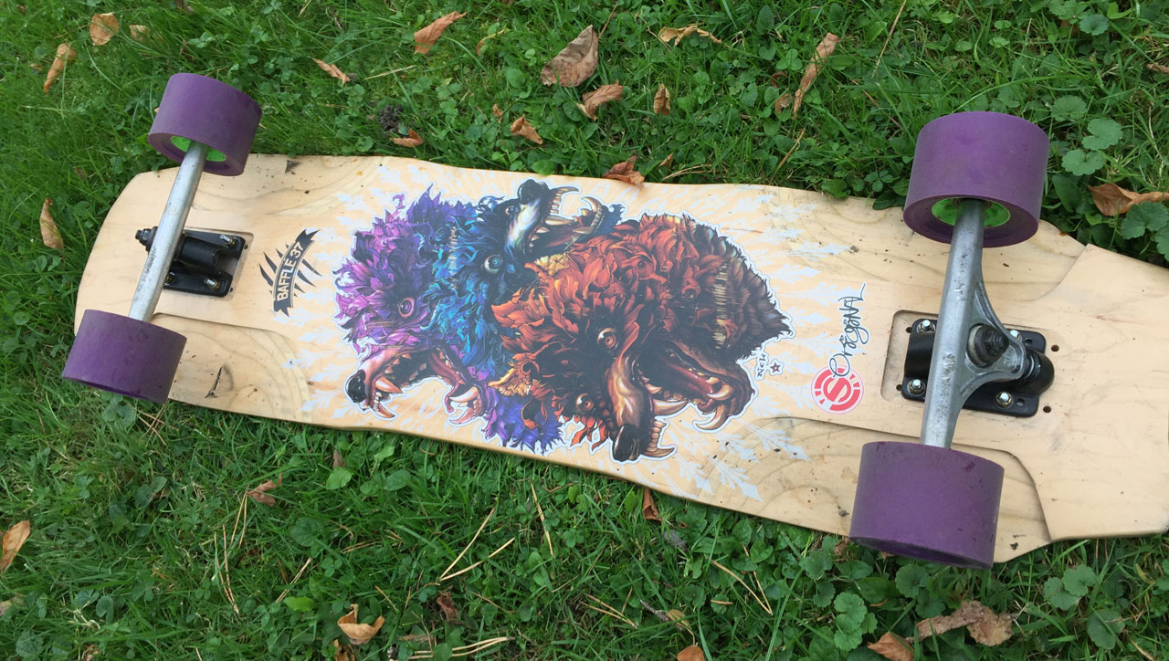 Longboard Original Skateboards Baffle 37